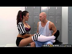 Brazzers - Big Tits In Uniform -  Referee With Big Tits Fucks Player scene starring Emily Parker and
