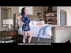 FamilyStrokes - Hot Step-Aunt Seduces Nephew