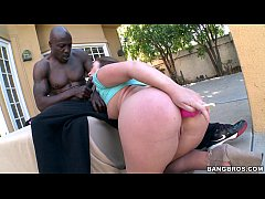 Thick White Girl gets a Black Cock to Play With