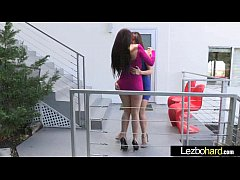 (Mandy Muse & Jenna Sativa) Teen Hot Lesbians Girls Play In front Of Cam vid-20