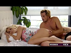 MomsTeachSex - Mom And Son Share Bed And Fuck S...