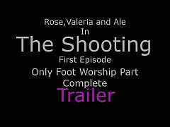 The Shooting Ep1 - Only Foot Worship