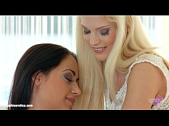 Light kisses by Sapphic Erotica - Candee Licious and Nomi Melone lesbians
