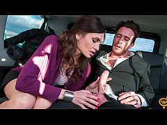 FUCKED IN TRAFFIC - Hot Russian babe Audrey Jan...