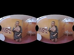 Lilly Peterson Is A Hot Virtual Reality Mature Blonde