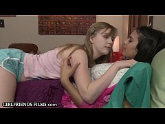 Naturally Stacked Lesbian Teen Seduced!