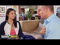 BANGBROS - Young Teenage Girl Wants To Fuck Her Boyfriend's Dad, So She Does