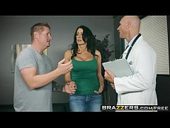Brazzers - Doctor Adventures -  My Husband Is Right Outside... scene starring Reagan Foxx and Johnny