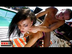 French pornstar Jordanne Kali fucked in the ass by Leo Galvez