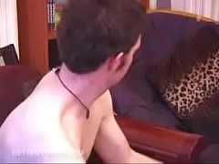 Straight Boy Jerks Off With Sex Toy