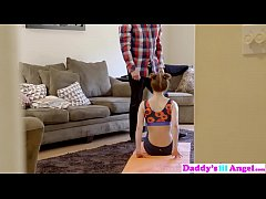 Daddys Lil Angel - Tempting Step Dad To Fuck During Workout S2:E5
