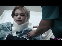 19 years young female patient Arya Fae fucked by her perverted doctor at the hospital
