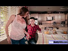 (Ariella Ferrera) Big Melon Tits Housewife Love Intercorse movie-07
