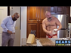 Hairy bears have a steamy fuck session