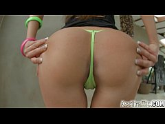 Ass Traffic Nomi Melone gaping anal fuck and swallow