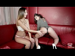 GIRLSGONEWILD - Young Latina With Big Ass Gets Her Pussy Licked For The 1st Time