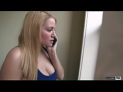 Big Tits & Round Ass Chubby Teen Alix Likes To Cum All Over Her Step-Brothers Hard Thrusting Cock!