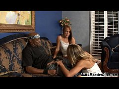 Haley Sweet in an Interracial Threesome