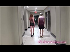 Tgirl Couple Soap Up and Stick Holes