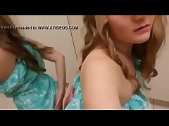 Teen masturbate in changing room - watch live a...
