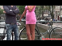 Real dutch hookers in pussy fucking trio