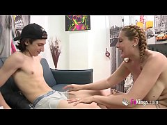 A milf for the guy who never stops cumming. Nuria and Filipe