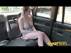 Fake Taxi Cabby tries his beginners luck on hot blonde with big tits