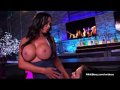 Nikki Benz and Abigail Mac's First EVER Lesbian Video!