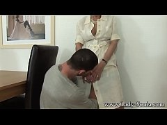 Busty British MILF Lady Sonia fucking a hot younger guy