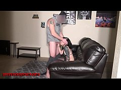 Submissive Goth Amateur Slave Brutally Face Fucked