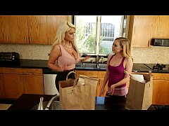 Lyra Louvel and Bridgette B at Mommy's Girl