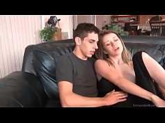 Drunk Alana fucks her stepbrother after a night out - watch more at teenandmilfcams.com