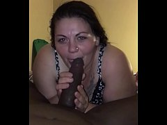 Superhead and cum in mouth swallow from Cecee