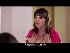 Crazy Hot MILF Dana DeArmond Is Jealous Her Twink Stepdaughters Adriana Chechik And Jade Nile Are Fucking Without Her