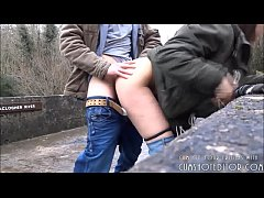 Submissive Young Amateur Fucked In Public