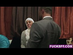 Muslim besties dirty bachelorette party with a stripper