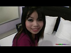 Nice Thai girl meets seedy sex tourist and she lets him bareback her pussy