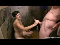 Handjob In The Shower