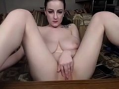 Amateur chat girl with perfect tits