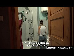 Brunette Girl Cheating her BF during wifeswap