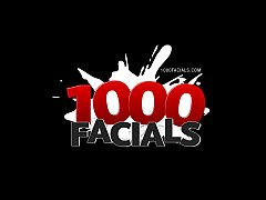 1000Facials Sweet Dillion Harper facialized by ...
