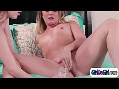 AJ Applegate n Cadence squirt in each others mouth and face