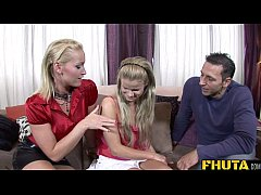 Fhuta -  Russian daughter learn from dad's friend