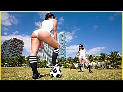 BANGBROS - Sexy Latin Girls With Big Asses Play...