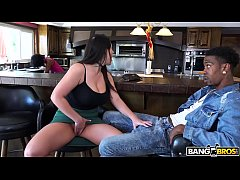 BANGBROS - Busty Babe Angela White's Big Tits on Monsters of Cock