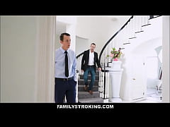 Lucky Step Son Fucks His Step Mom Before Wedding To His Dad