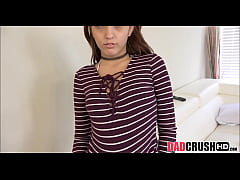 Cute Young Brunette Step Daughter Fucks Dad To Stay Out Of Trouble