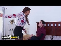 BANGBROS - He Needs To Fuck His MILF Stepmom To Avoid Being Punished!